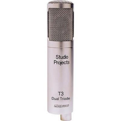 microfono condensatore/valvolare studio project t3