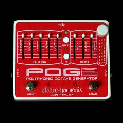 Electro-Harmonix POG2, un pedale per trasformare una chitarra in un synth analogico