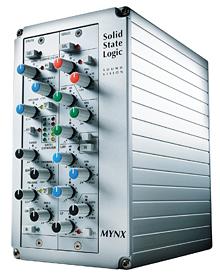 Preamplificatore microfonico mynx solid state logic (ssl)