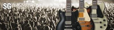 Yamaha SG- SG1820, SG1820A e SG1802, 3 nuove chitarre elettriche in stile gibson