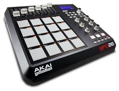 AKAI MPD26 un controller MIDI pad USB