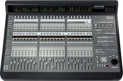 Digidesign C 24, una superficie di controllo basata su Pro Tools