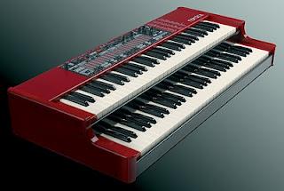 clavia nord c2 farfisa tastiera