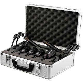 Audix FP QUAD Drum Mic Pack, un set di microfoni per batteria