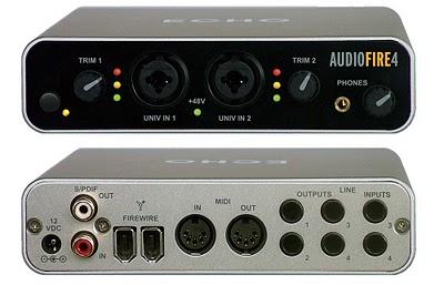 Echo Audiofire 4 scheda audio ottima piccola e compatta