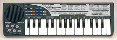 Pianola bontempi gt 530