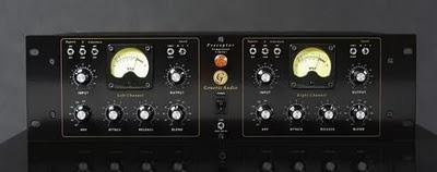 Generic Audio Preceptor un compressore e limiter a due canali analogici