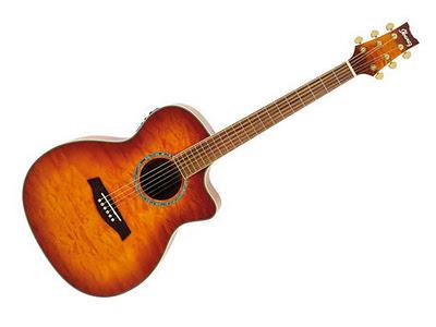 Ibanez A300E-VV, una chitarra acustica progettata per essere amplificata