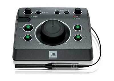 JBL MSC1 un controller per monitor con la funzione RMC per correzioni acustiche
