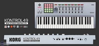 Korg Kontrol49 controller midi master keyboard