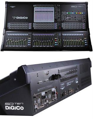 Digico SD Ten, una console digitale piena di nuove opzioni interessanti