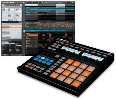 Native Instruments Maschine una combinazione software/hardware groove box