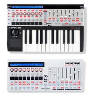 Novation SL 25 MKII una master keyboard/controller Daw piena di funzioni