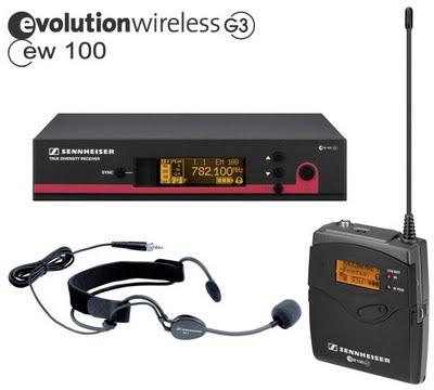 Sennheiser Evolution Wireless G3 100, 12 kit wireless per musicisti cantanti e presentatori