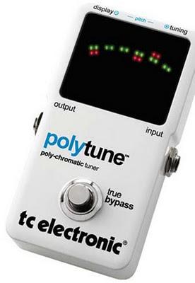 TC Electronic PolyTune, un sintonizzatore cromatico con la funzione poly