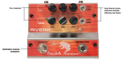 Double Shaman, un pedale con 2 canali molto diversi tra loro