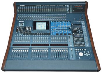 Mixer Yamaha DM2000: una console con una tecnologia avanzata
