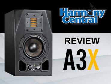 Adam A3X monitor di piccole dimensioni che suonano alla grande