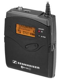 Sennheiser ew 100 G3: Frequenze ampliate e nuove funzionalità avanzate