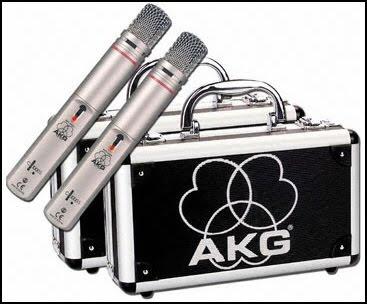 microfoni panoramici:condensatore akg c1000s