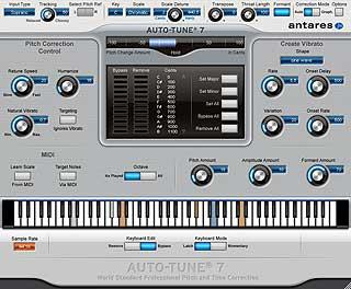 Antares Auto-Tune 7 un plugin per la correzione vocale