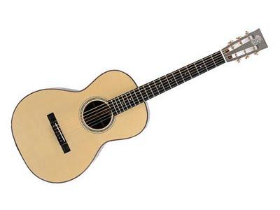 Patrick James Eggle Parlour, una chitarra con un piccolo corpo e una vita stretta