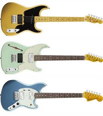 Pawn Shop Fender '51, Pawn Shop Fender '72 e Pawn Shop Mustang Special, le nuove chitarre vintage di fender