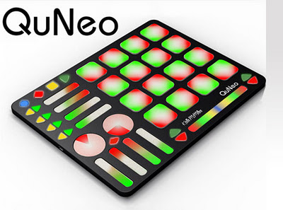 Keith McMillen presenta il comando a pedale SoftStep con il QuNeo, un altro controller ibrido e tattile