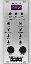 Kenton Electronics Modular Solo, un convertitore MIDI-to-CV progettato per l'utilizzo in EURORACK (A100)