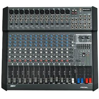 mixer proel m16usb