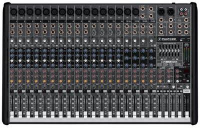 Mackie ProFX16 e ProFX22, dei mixer con delle funzioni dedicate alla compressione