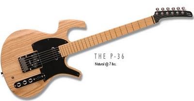 Parker P-36: una chitarra elettrica con una vasta scelta di toni