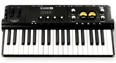 Line 6 POD STUDIO KB37 interfaccia audio/master keyboard