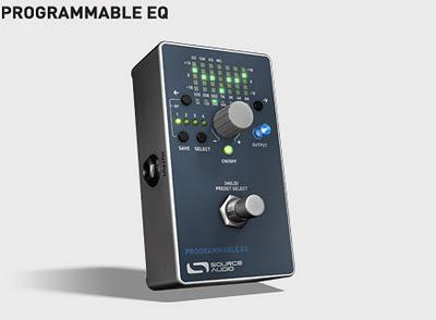 Source Audio Programmable EQ, un equalizzatore programmabile a pedale