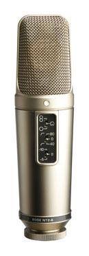 Rode NT2-A, un microfono a condensatore FET a diaframma largo con delle prestazioni insuperabili per il prezzo