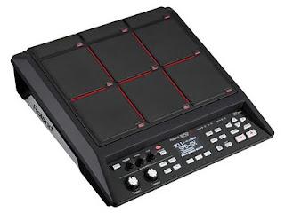 Roland SPD-SX, uno strumento a percussione Pad che consente di utilizzare i propri campioni