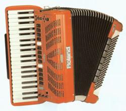 La fisarmonica Roland V-Accordion