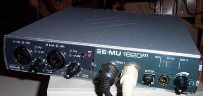 Emu 1820M scheda audio