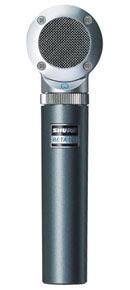 Shure Beta 181, un microfono a condensatore electret con capsule intercambiabili