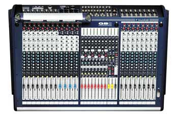 Soundcraft GB8 16 mixer live