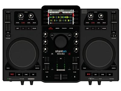 Stanton 4DJ (SCS.4DJ), una nuova mixstation per Dj