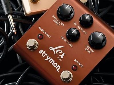 Strymon Lex Rotary, il suono di una cassa a rotazione in un pedale