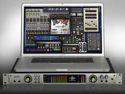 Universal Audio Apollo – un interfaccia audio UAD DSP dotata della tecnologia Thunderbolt