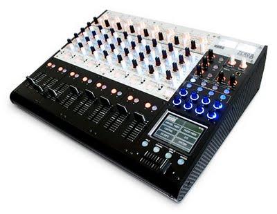 Korg Zero 8, mixer/superfice di controllo