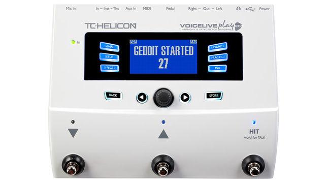 TC-Helicon VoiceLive Play GTX, un processore di effetti per chitarra e voce