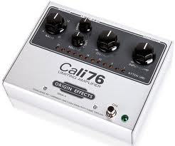 Origin Effects Cali76, un compressore FET per chitarra e basso