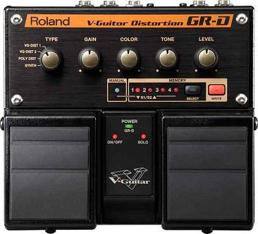 Roland GR-D V-Guitar Distortion e Roland GR-S V-Guitar Space