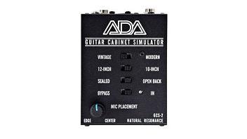 A/DA GCS-2, un simulatore di cabinet per chitarra