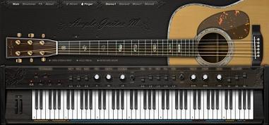 Ample guitar M, L e T, le migliori chitarre virtuali acustiche e classiche