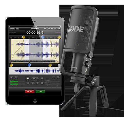 Rode NT-USB, un microfono usb per pc, mac, iPhone e iPad